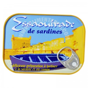 Paté Of Sardines With Cumin Essaouirade