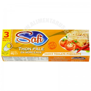 Tuna With Hot Tomato Sauce Safi (pack 3)