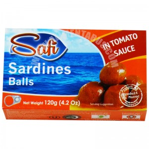 Balls De Sardines With Tomato Sauce Safi