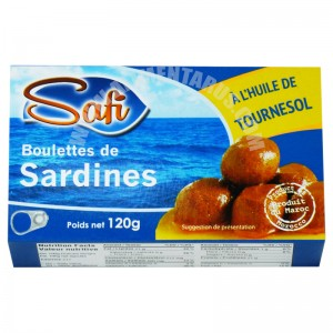 Balls Sardines With Sunflower Oil Safi
