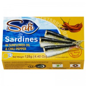 Safi Sardines With Sunflwer Oil & Chili Pepper