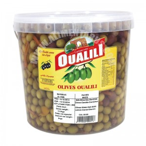 Mixed Olives Oualili 8kg