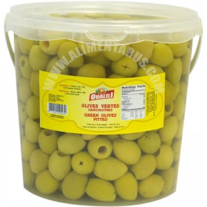 Pitted Green Olives Oualili 1.9kg