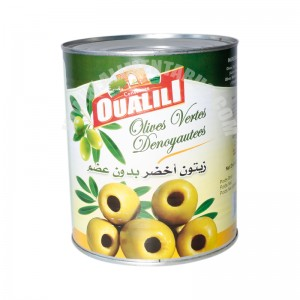 Pitted Green Olive Oualili (a10) 1,445 Kg
