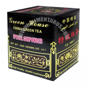 Gun Powder Tea GREEN HOUSE 125g