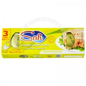 Tuna With Sunflower Oil Safi (pack 3)