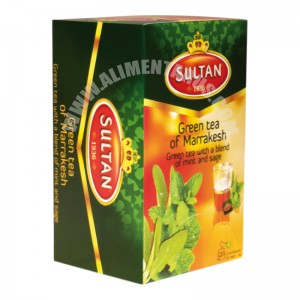 Green Tea Marrekech With Mint & Sage 28 G
