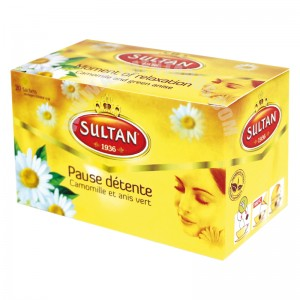 Herbal Tea Moment Of Relaxation Sultan 28g
