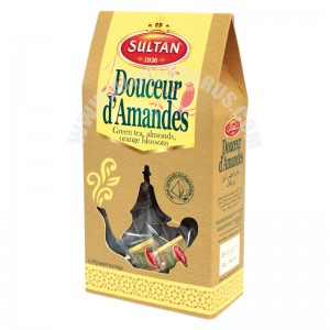 Green Tea Almond Sweetness(almonds & Orange Blossom) Sultan 15s